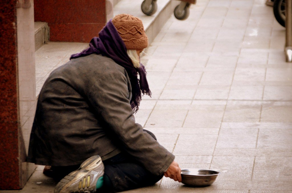 Churchgoers Ignored the Pleas of A Homeless Man