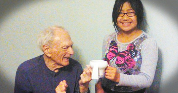 What This 11-Year-Old Did For Her Grandfather with Parkinson's Disease Moved Me To Tears. This Is Incredible!