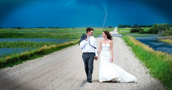 These 6 Couples Didn't Let Storms of Life Ruin Their Wedding Days