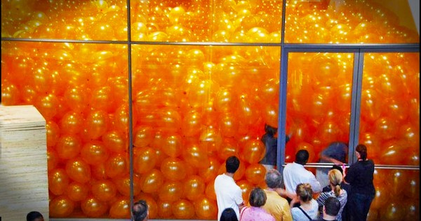 What A Room Full Of Balloons Can Teach You About Joy