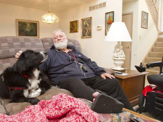 Veteran keeps home
