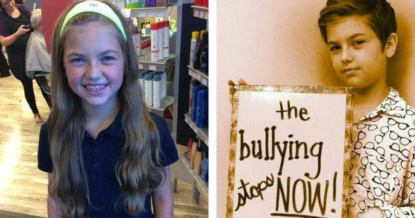 One Girl Donated 2 Feet of Hair to Children Fighting Cancer. Now She's Being Bullied For Her Bravery.