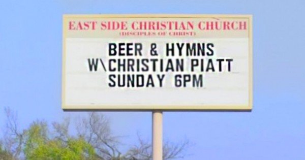 This Church Has Its Heart In The Right Place. But I'm Not Sure The BEER Is!