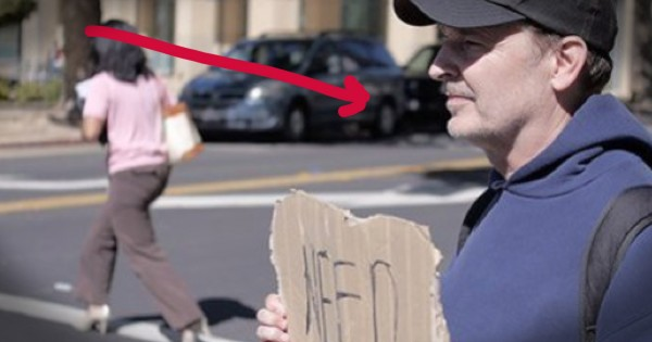 People Looked Away From This 'Homeless' Man On The Street. But His Secret Identity Will Stun You!