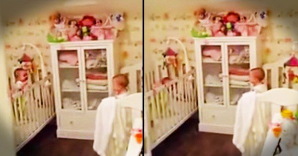 Apparently, These Twins Weren't Ready For Bed. What They Do Instead Is Sure To Make You Giggle!