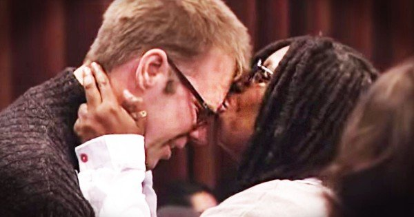 When This Man Stood Up NO ONE Knew He Would Do THIS. Now Even Whoopi Is Crying!