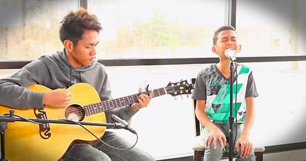 Two Cousins Sing Kari Jobe's 'Steady My Heart'