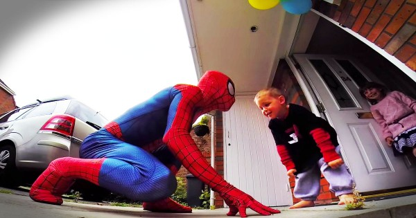 It's This Little Guy's Birthday, And It May Be His Last. So His Dad Just Gave Him The BEST Surprise!