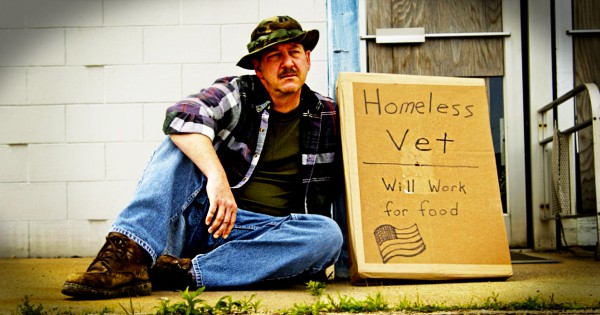 God Used Something Unusual To Heal A Wounded Soldier…Now My Hope Is Restored For Homeless Veterans