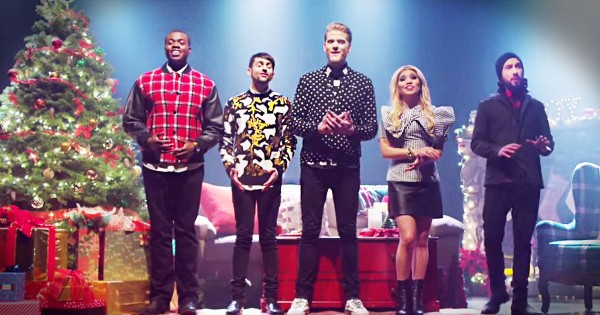 Get Ready To Get Chills From This A Cappella Christmas Performance. Now I'm All Misty-eyed!