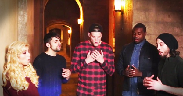 Pentatonix –  A Cappella 'Silent Night'
