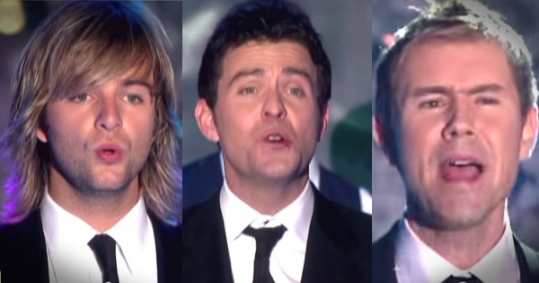 Celtic Thunder Performs Christmas 'Hallelujah'