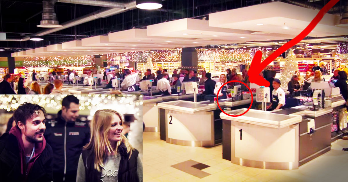 Grocery Store Surprises Shoppers With Flash Mob Of ' Jingle Bells ' _ god updates