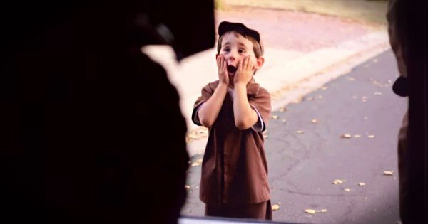 This Little Boy's Best Friend Is A UPS Driver. And You've Gotta See The BIG Surprise Delivery–Wow!