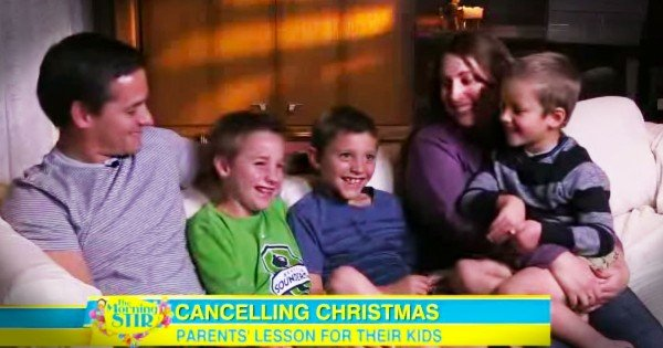 These Parents Are Canceling Christmas, But Wait 'Til You Hear WHY! Is This Mom Scrooge Or Hero?