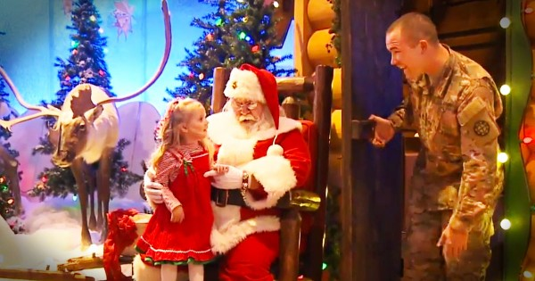 This Little Girl Only Wanted 1 Thing For Christmas. This Emotional Reunion Will Melt Your Heart!