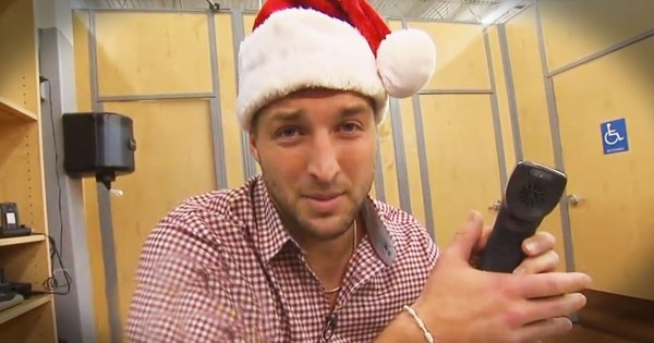 Tim Tebow Is Spreading Christmas Cheer. And HOW He Does It Will Have You Smiling Through TEARS!