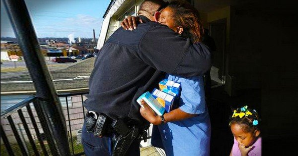 A Grandma Was Caught Stealing Eggs To Feed Her Family. But What A Police Officer Did For Her Ended In Hugs