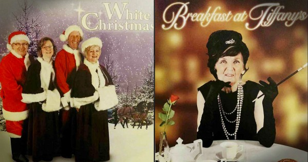 Retirement Home Turns Its Residents Into Hollywood Stars In Classic Movie Posters