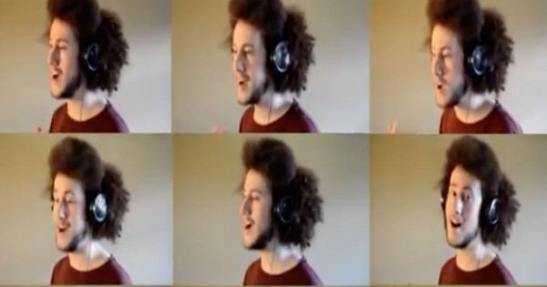 One-Man Acapella Performance Of 'I Need Thee, O I Need Thee'