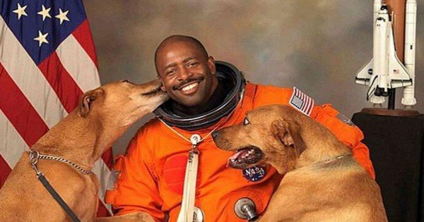 Now THIS Is 1 Man Who Loves His Dogs AND Space. You CANNOT Miss THIS!