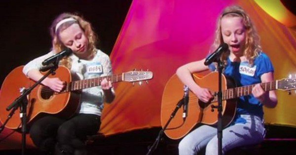These 2 May Only Be 10 Years Old, But These Sisters Are Insanely Talented. Seriously…WOW!!