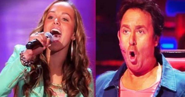 'Something's Got A Hold On Me' Performed On The Voice By A 13-Year-Old