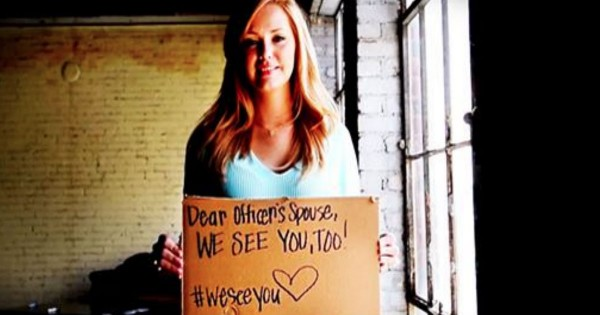 These Strangers' Message For Officers May Change The Way You See Everything. My Heart Is So Heavy Now!