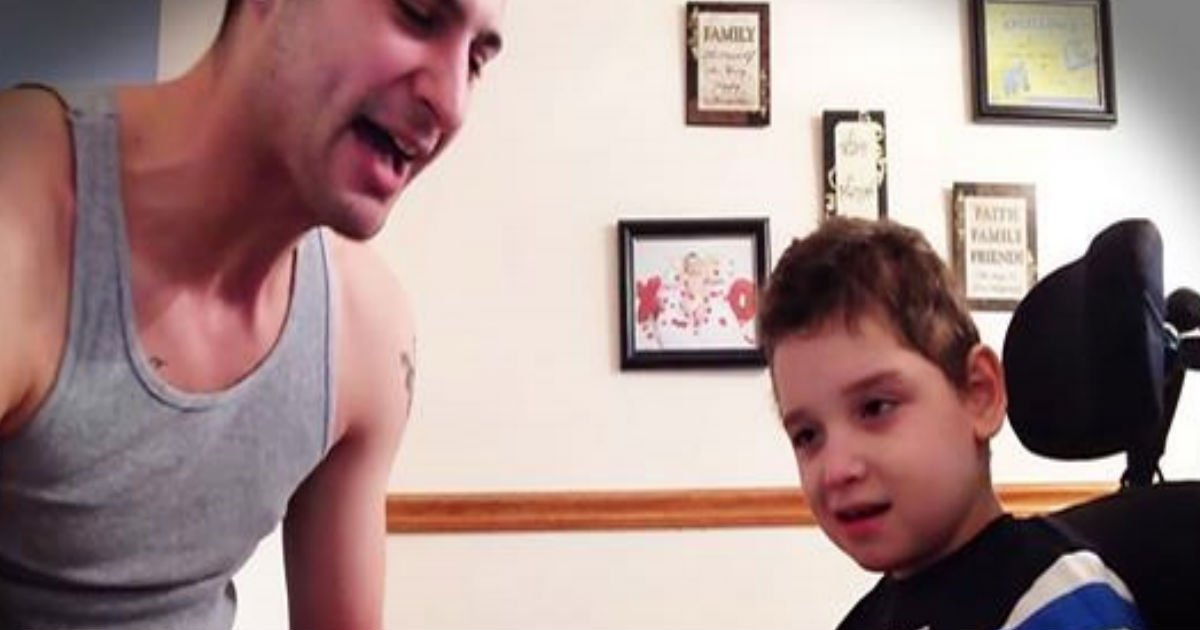 This Little Boy Was Nearly Unresponsive Until His Dad Did THIS Oh My Gracious Is Love