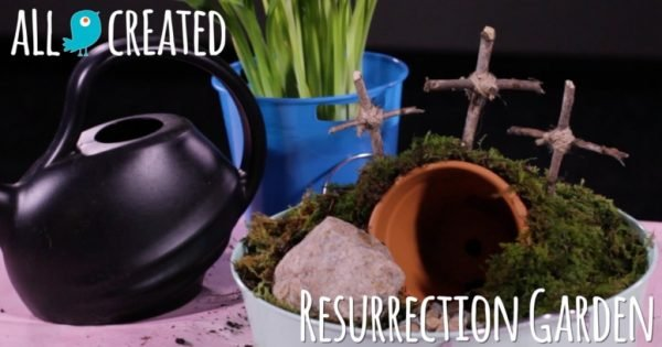 This Easter Garden Is a Perfect Way To Teach Kids About Jesus