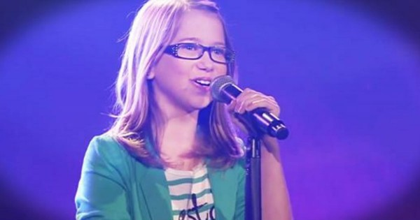 8-Year-Old Laura Sings 'I Will Always Love You' And Stuns Judges