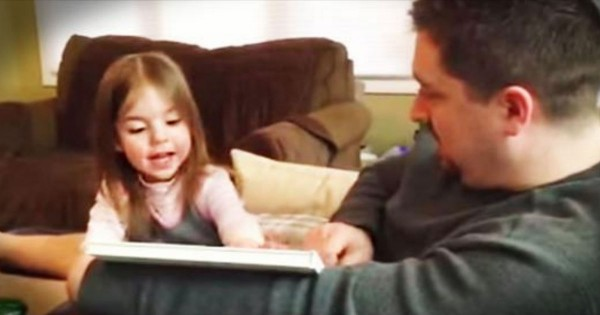 Special Surprise Baby Announcement For 3-Year-Old Daughter