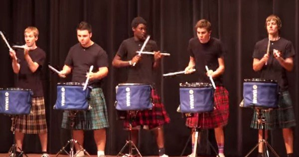Drummers Win High School Talent Show