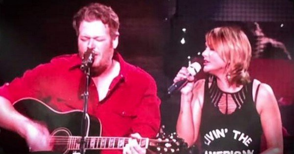 Miranda Lambert And Blake Shelton Sing 'God Gave Me You'