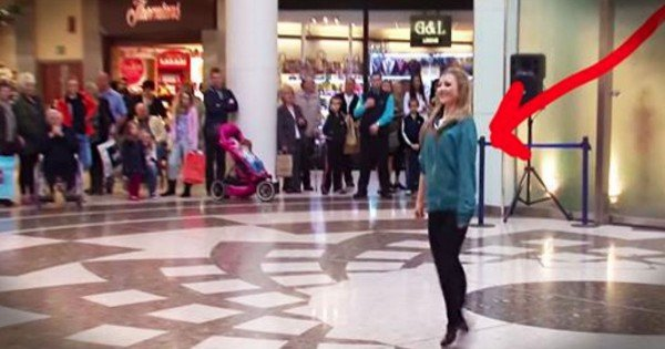 This Girl Started Dancing Alone In An Airport. But What Happened Next Is Too INCREDIBLE For Words!