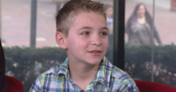 Boy Who Is Sick From Chemo Stands Up To His Bullies