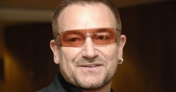 Rock Star Bono Shares His Amazing Testimony