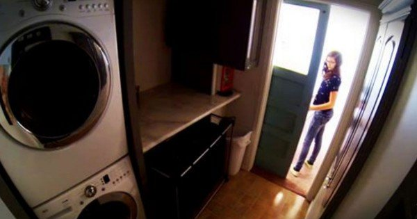 Mom Designs An Awesome Laundry Room On A Budget