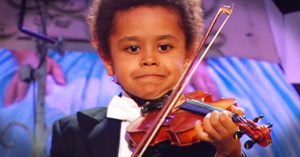 Akim Camara Is A 5-Year-Old Violin Prodigy