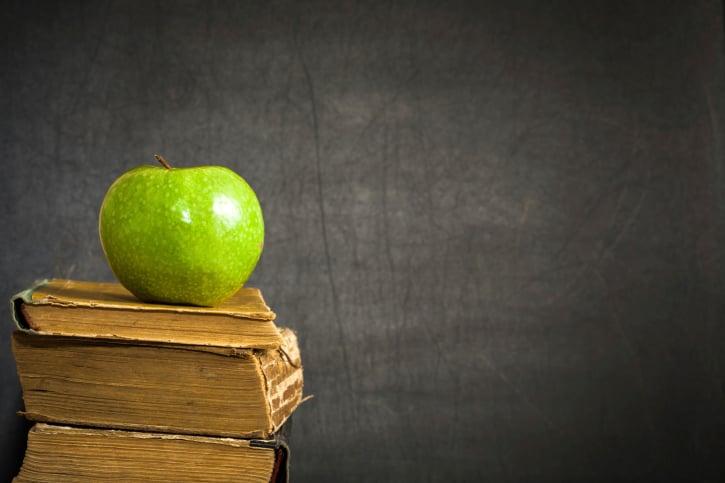 Apple on the books