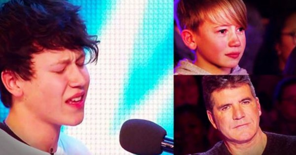 The Judges Sat Silent While He Sang, And His Little Brother Was In Tears. THIS Is Powerful!