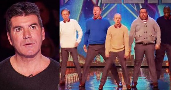 """Everyone Laughed At These Awkward """"Old"""" Men. But By The End, Even SIMON Was On His Feet!"""