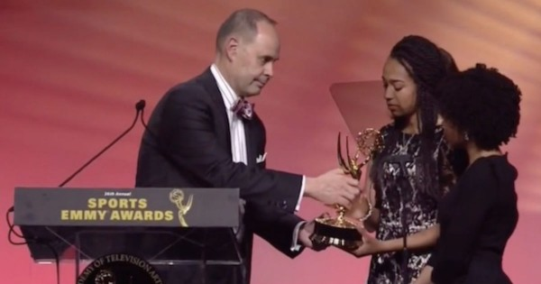 This TV Anchor Won An Emmy. But What He Did On Stage Next Brought The World To TEARS!