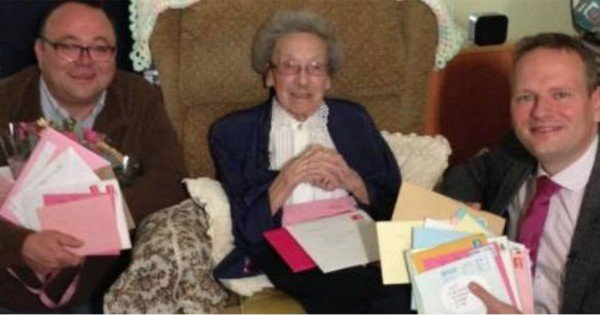 Winnie Blagden Celebrates Turning 100 Years Old