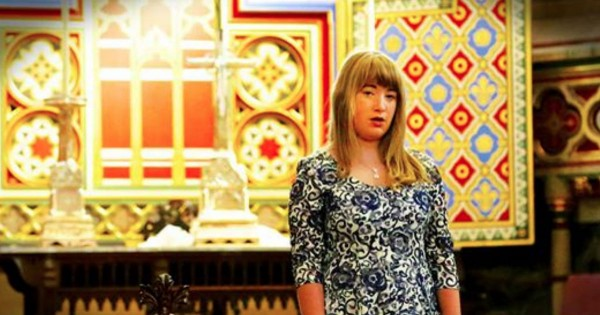 Mom Films Daughter Beautifully Singing 'Pie Jesu' In Empty Church
