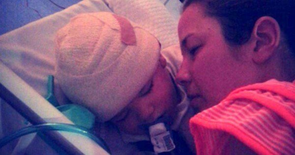 Her Baby Was Struggling After Surgery. Until This Mom Leaned In And Did THIS!