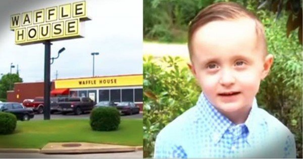 What This 5-Year-Old Did In Waffle House Had Everyone In Tears! That's How To Care For Those In Need.