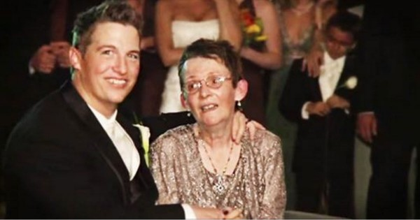 This Groom's Mother Couldn't Get Up To Dance With Him. What He Did NEXT Had The Whole Place Sobbing!