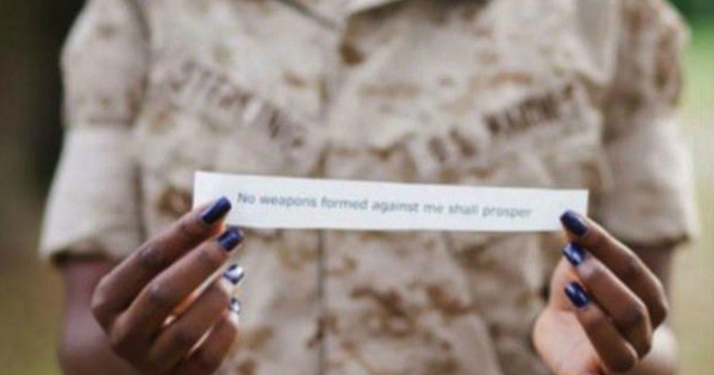 godupdates marine discharged over bible verse fb