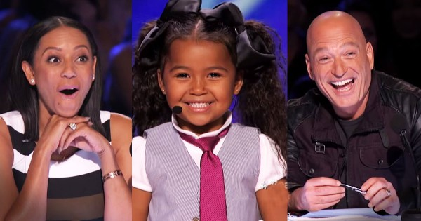 5-Year-Old Heavenly Joy Sings 'In Summer' On America's Got Talent